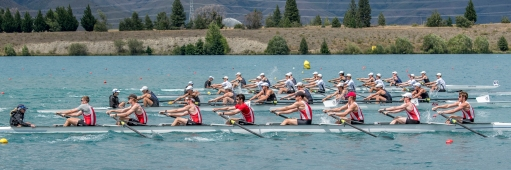 Lake Ruataniwha, Sunday, 10 December 2017. Copyright photo © Steve McArthur / @RowingCelebration